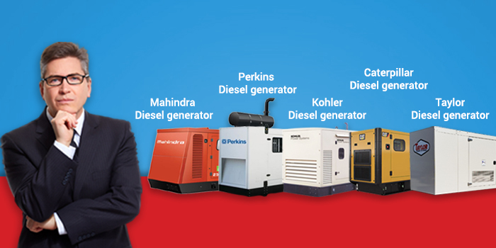 What are the best brands in a diesel generator to hire